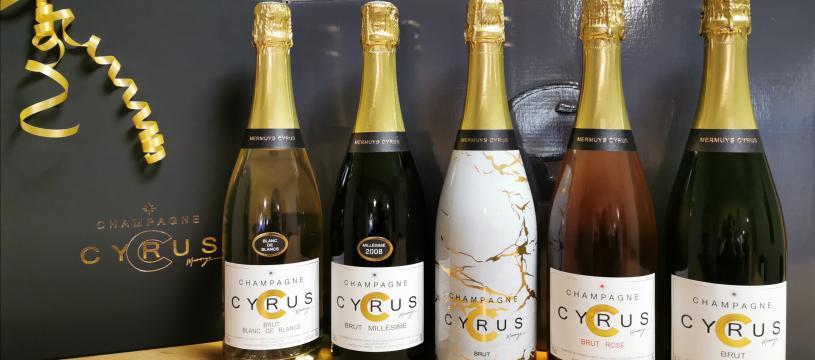 "Champagne ""Cyrus"" exclusivité Cavavin"
